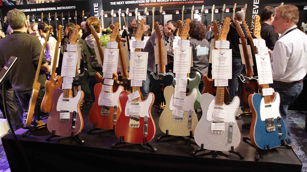 namm 2016 fender custom shop stand in pictures musicradar