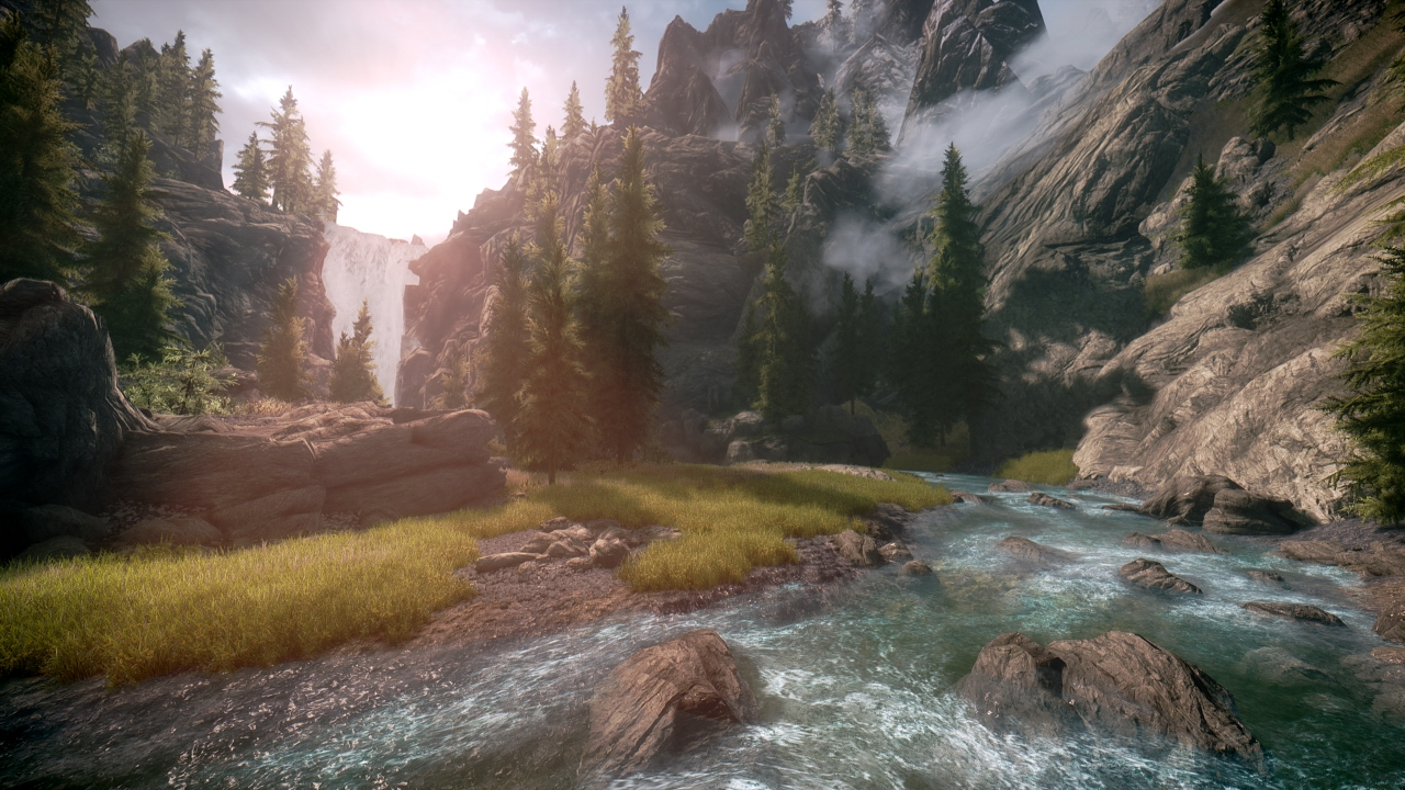 Here's what Skyrim looks like with up to 100 graphics mods