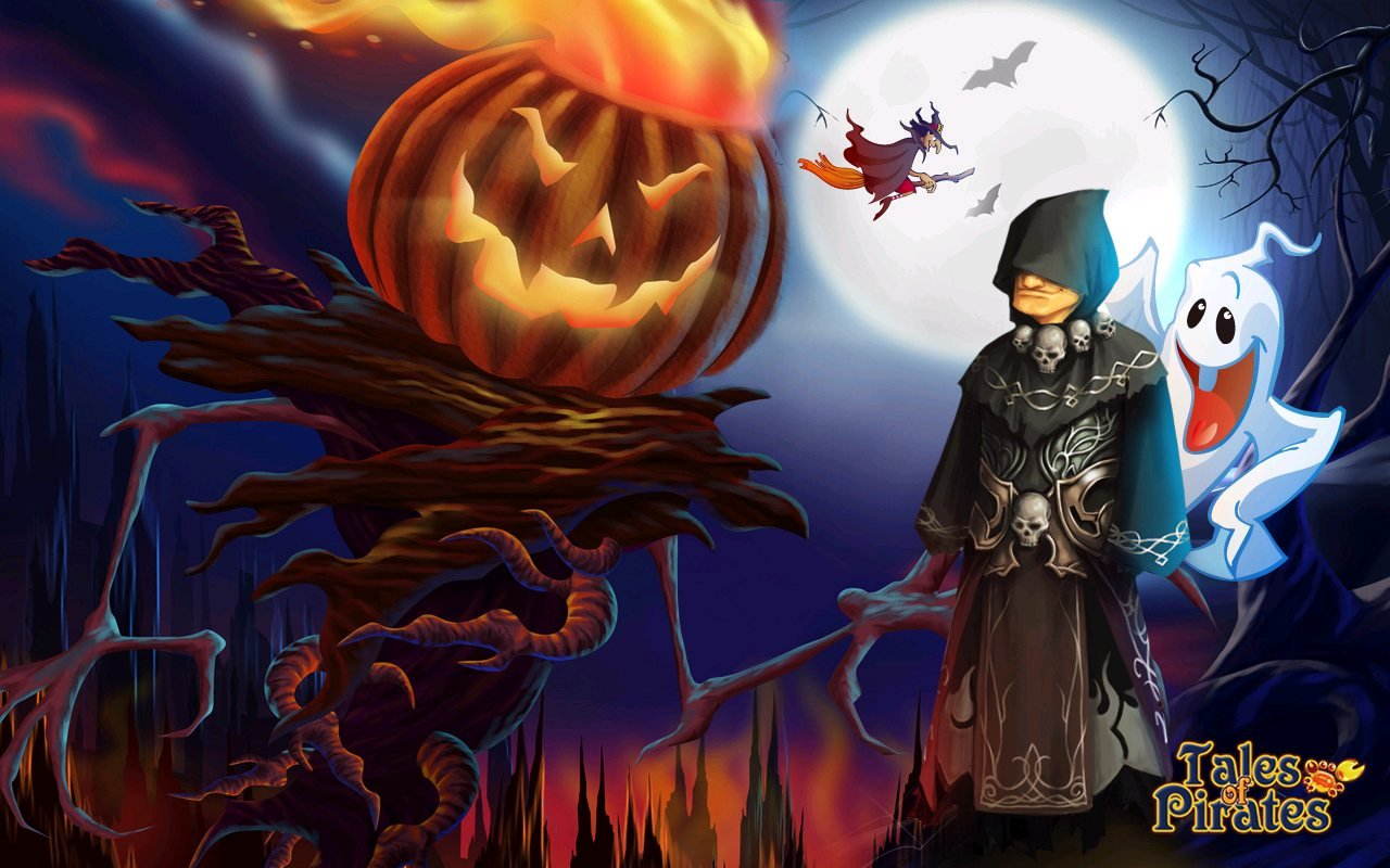IGG Releases Tales Of Pirates Halloween Wallpapers  #10073