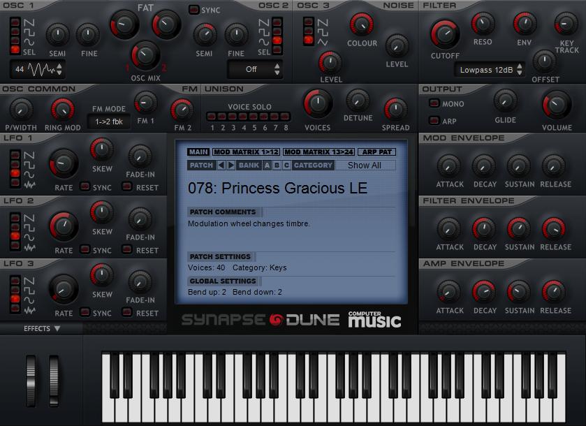 FREE synth VST/AU plugin: Synapse Dune CM | MusicRadar