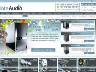 Inta Audio has strengthened its web presence.
