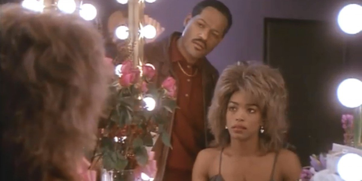 Laurence Fishburne and Angela Bassett as Ike and Tina Turner in What's Love Got to Do with It