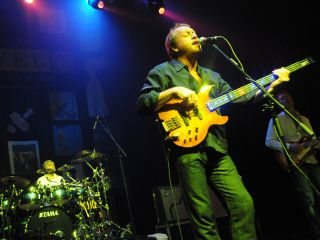 The Level 42 bass icon will appear on Saturday March 12