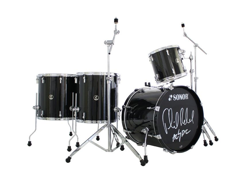 Phil Rudd Ac Dc Special Edition Drum Set Released By