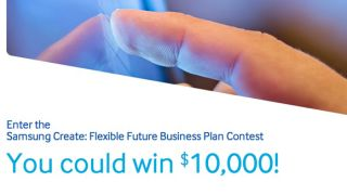 Samsung flexible display contest