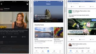 Facebook on mobile