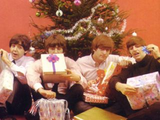 The Beatles wish you a merry fab and gear new year