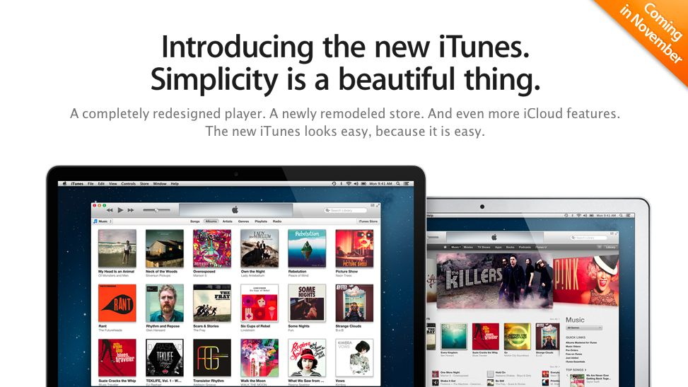 Apple's iTunes 11 now available for download   TechRadar