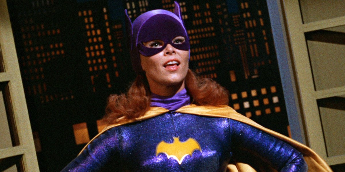 Yvonne Craig as Batgirl on Batman