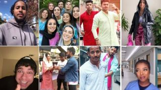 Selection of TikTok videos about Eid