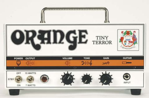 Orange Tiny Terror Head review | MusicRadar on