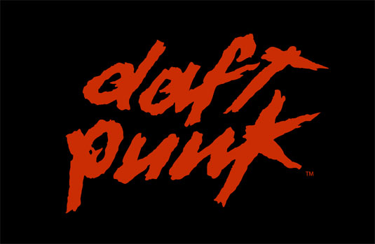 35 beautiful band logo designs - Daft Punk