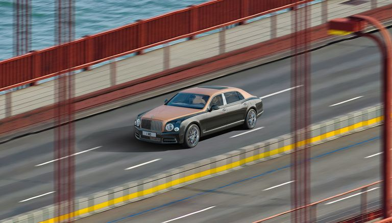 Take a look at this 53 BILLION pixel image of the Bentley Mulsanne Extended Wheelbase