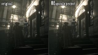 Resident Evil HD Remaster AI Upscale mod