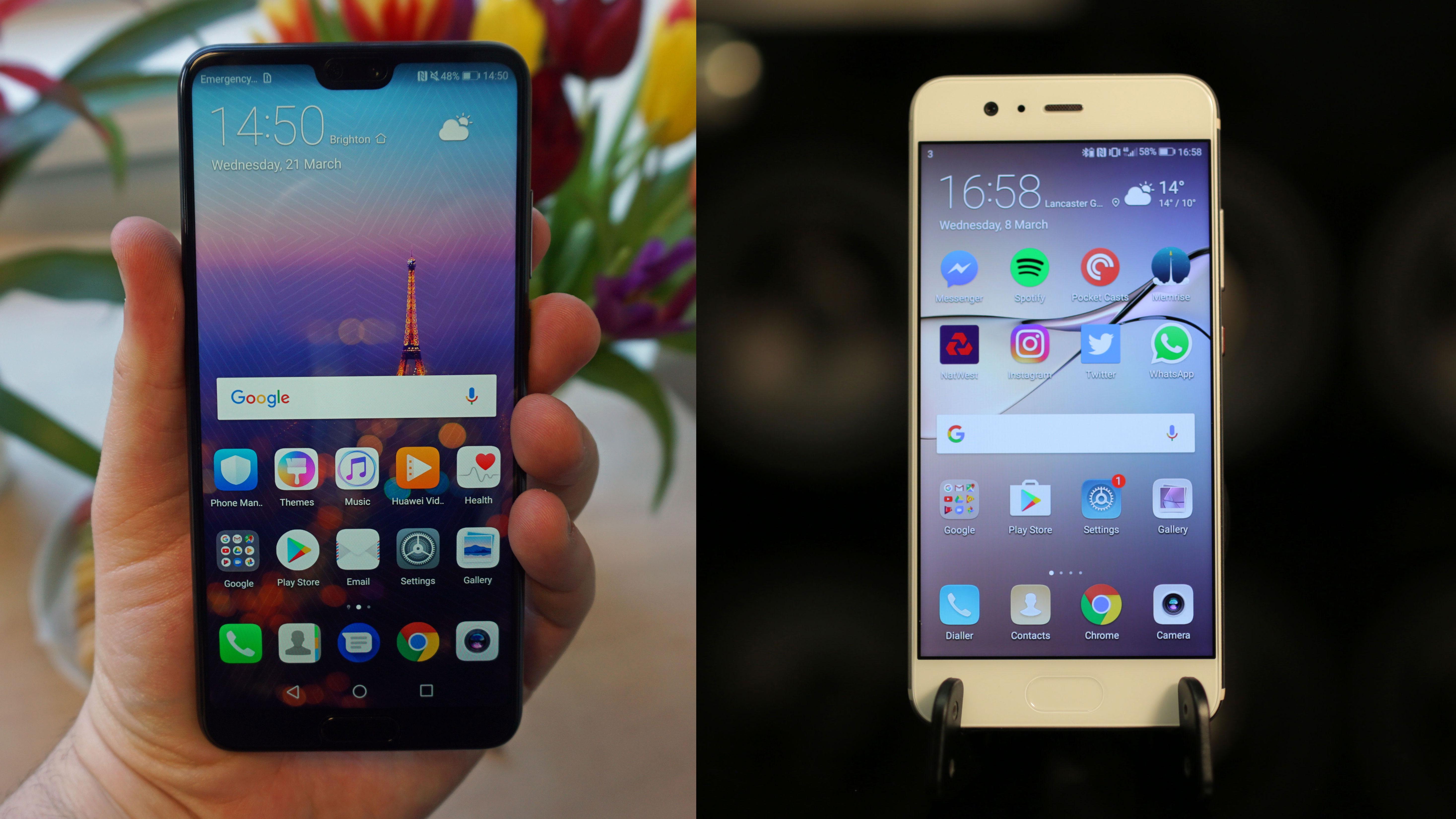 Huawei P20 vs Huawei P10   TechRadar
