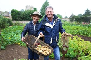 Mary Berry with Alan Titchmarsh