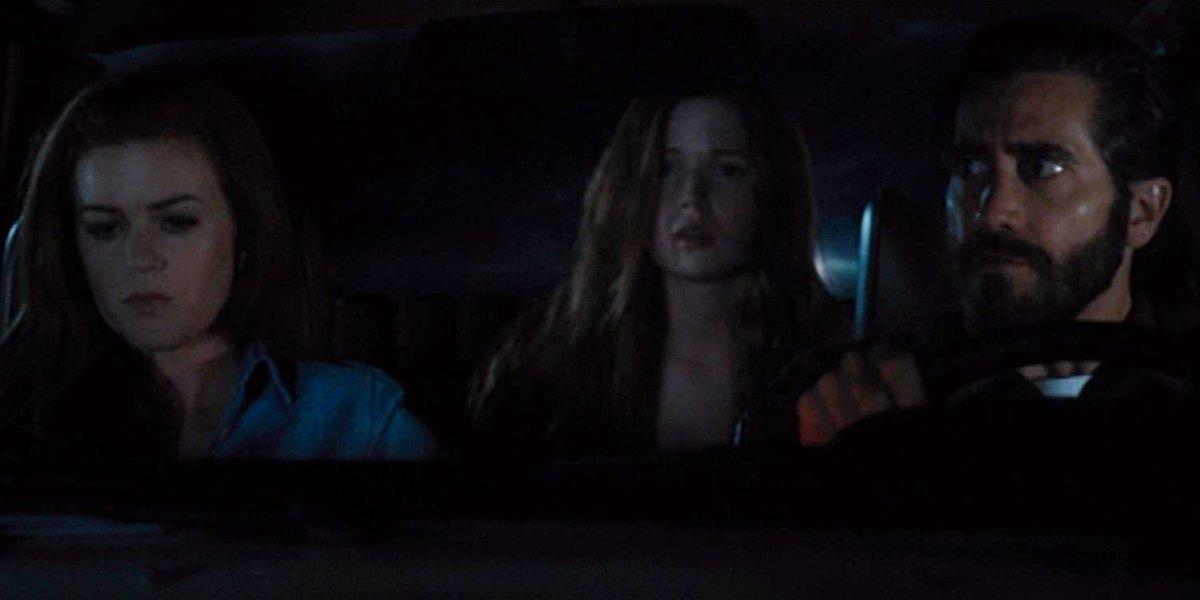 Isla Fisher, Ellie Bambler, and Jake Gyllenhaal in Nocturnal Animals