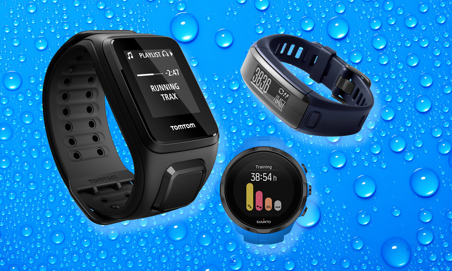 Best Water-Resistant and Waterproof Fitness Trackers | Tom's