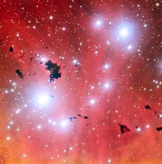 Nebula IC 2944 from the Very Large Telescope