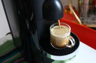A photo of the Nespresso Vertuo Plus