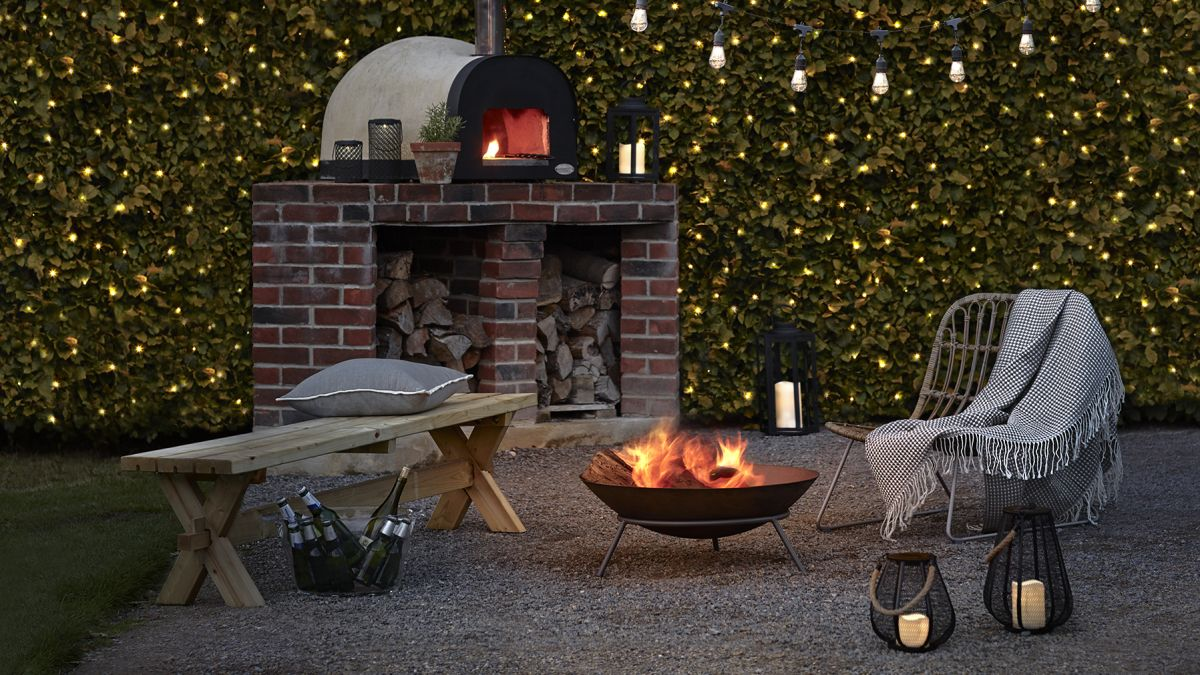 Urban Farmstead's Kyle Hagerty shares how he created an amazing DIY firepit patio