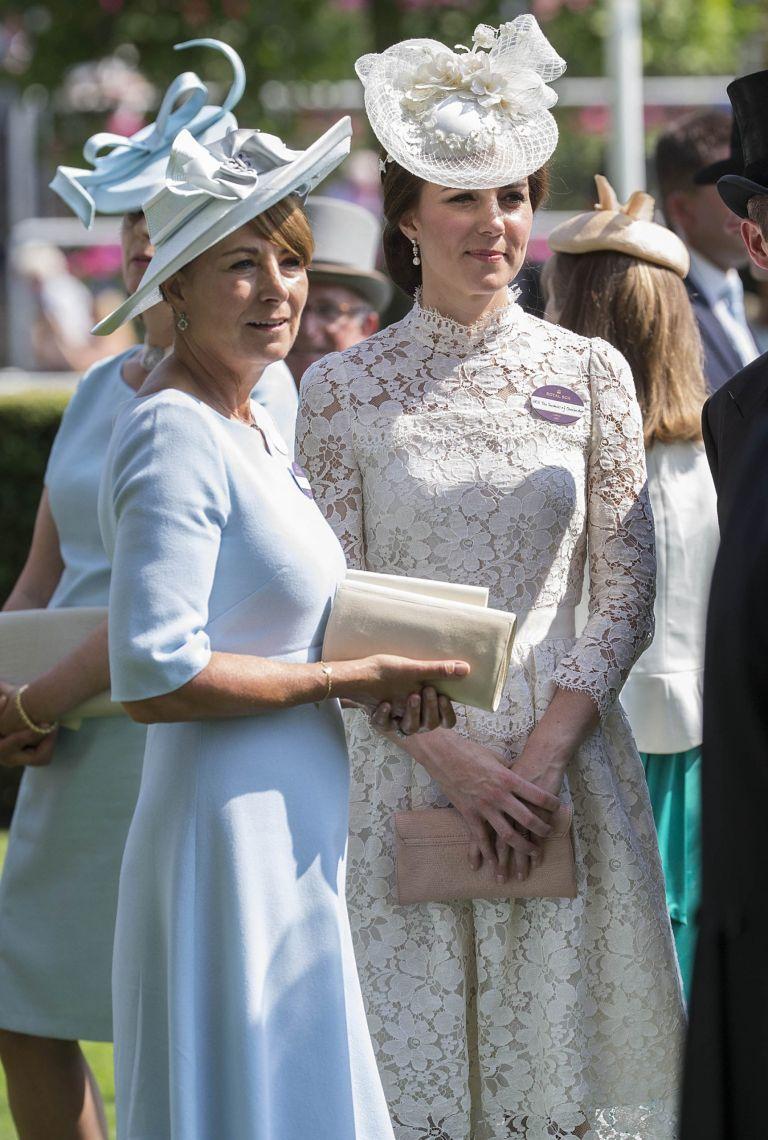 Carole Middleton Ascot 2017
