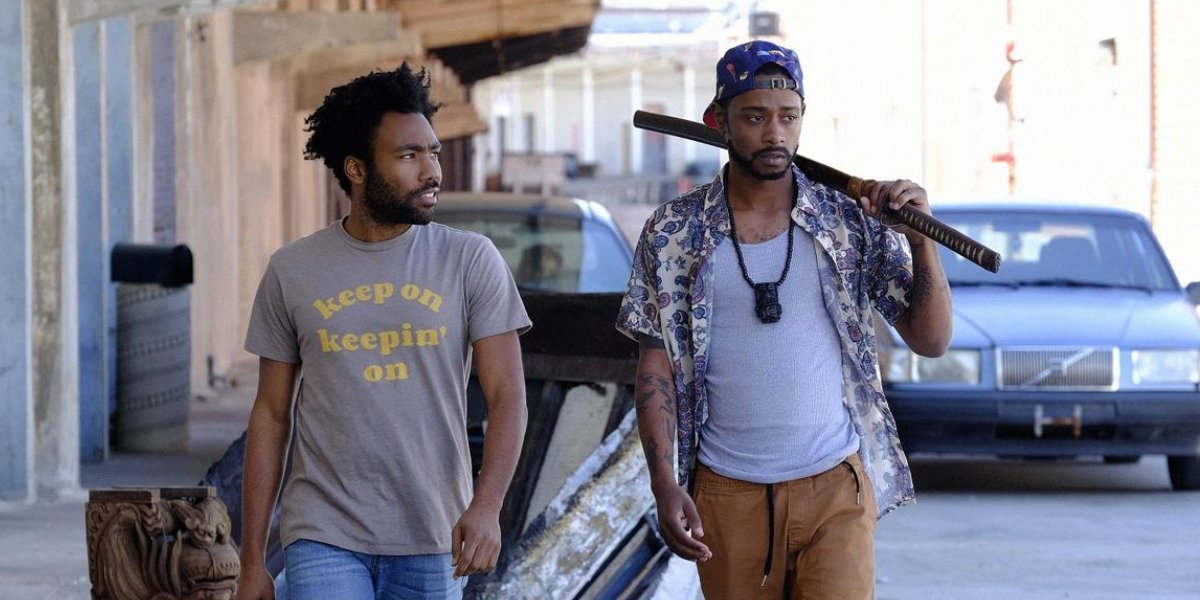 Donald Glover and Lakeith Stanfield in Atlanta