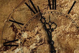 The doomsday clock nears midnight.