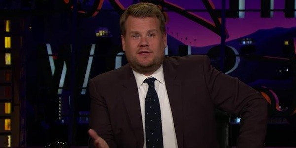 James Corden, current host of The Late Late Show on CBS