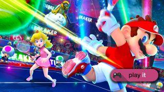 Mario Tennis Aces Review Smashing Shots Failed By Flimsy