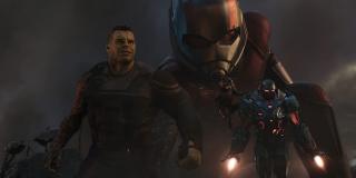 Hulk, Ant-Man, Rocket, and War Machine in Endgame