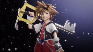Sora aus Kingdom Hearts hält seinen Schlüssel