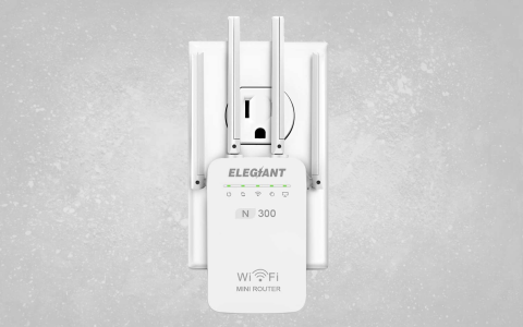 Elegiant LV-WR09 Wi-Fi Extender - Full Review and Benchmarks | Tom's
