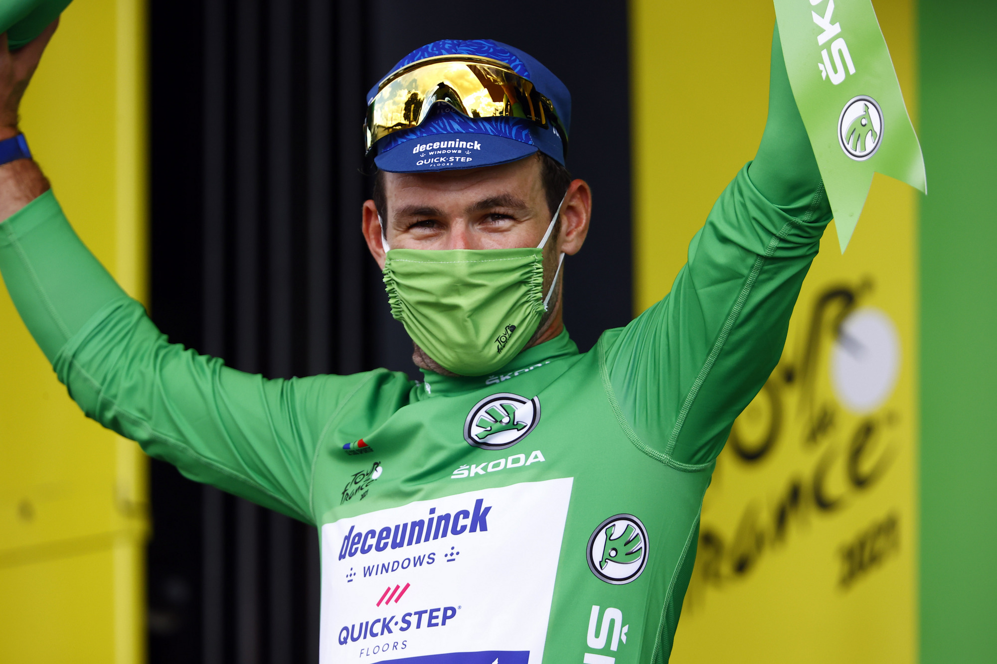 Tour de France 2021 - 108th Edition - 12th stage Saint-Paul-Trois-Chateaux - Nimes 159.4 km - 07/07/2021 - Mark Cavendish (GBR - Deceuninck - Quick-Step) - photo Luca Bettini/BettiniPhoto©2021