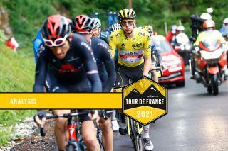 Tour de France 2021 - 108th Edition - 9th stage Cluses - Tignes 144.9 km - 04/07/2021 - Tadej Pogacar (SLO - UAE Team Emirates) - photo Luca Bettini/BettiniPhoto©2021