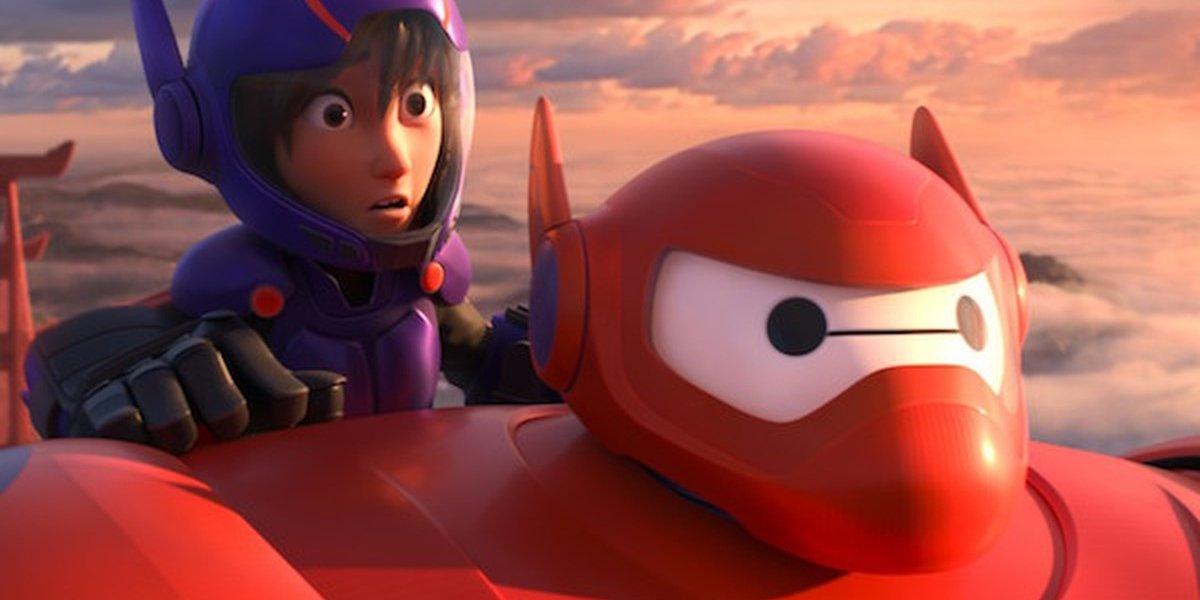 Hiro and Baymax from the Oscar-winning Big Hero 6