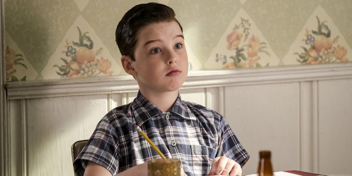 Young Sheldon Iain Armitage Sheldon Cooper CBS