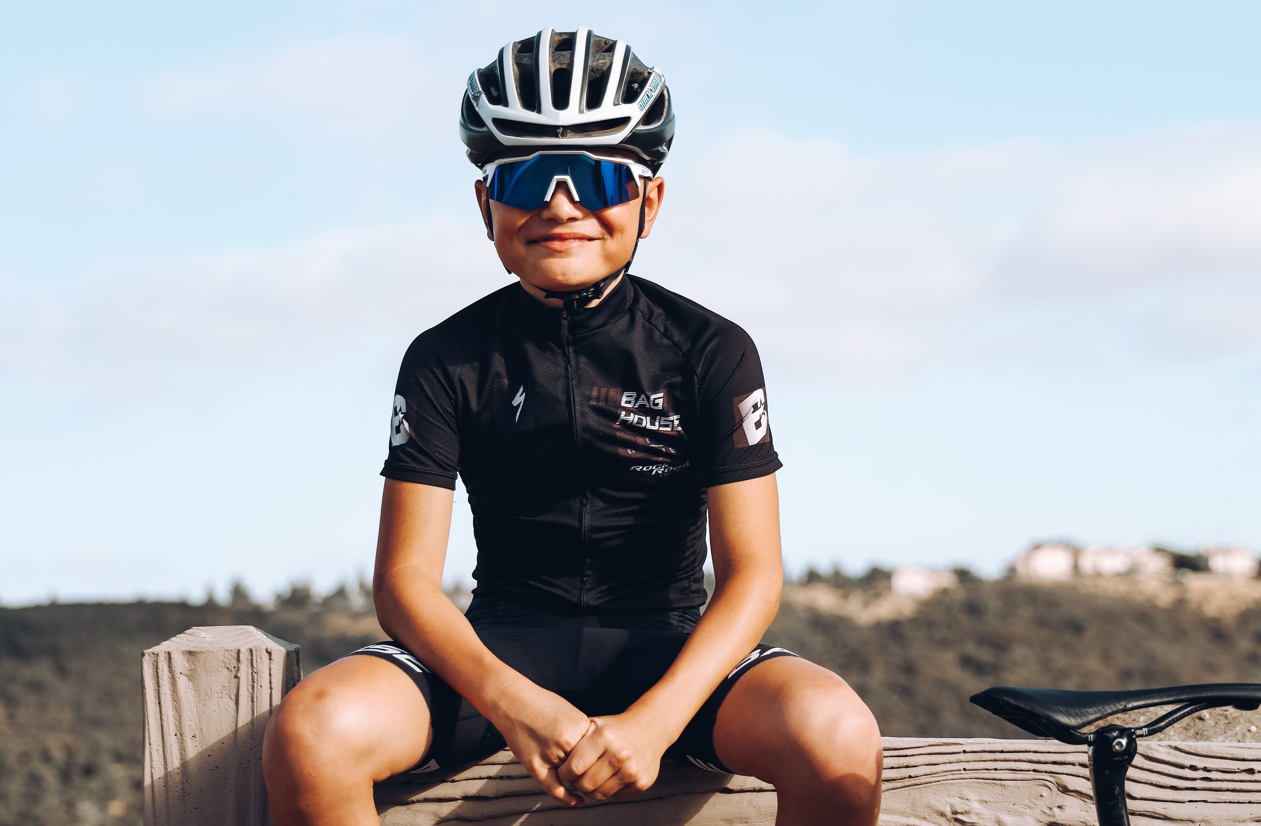 Keeping younger riders sharp in sunny conditions