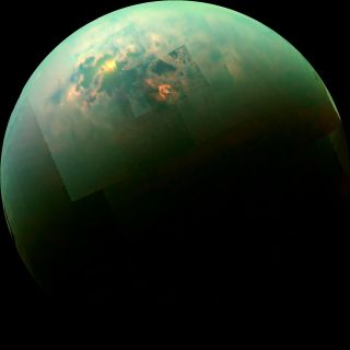 Cassini Titan photo