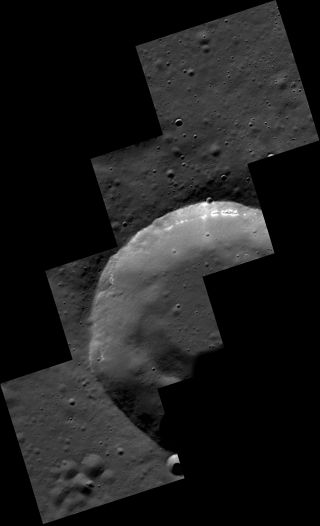 MESSENGER Crater Hollows Mosaic