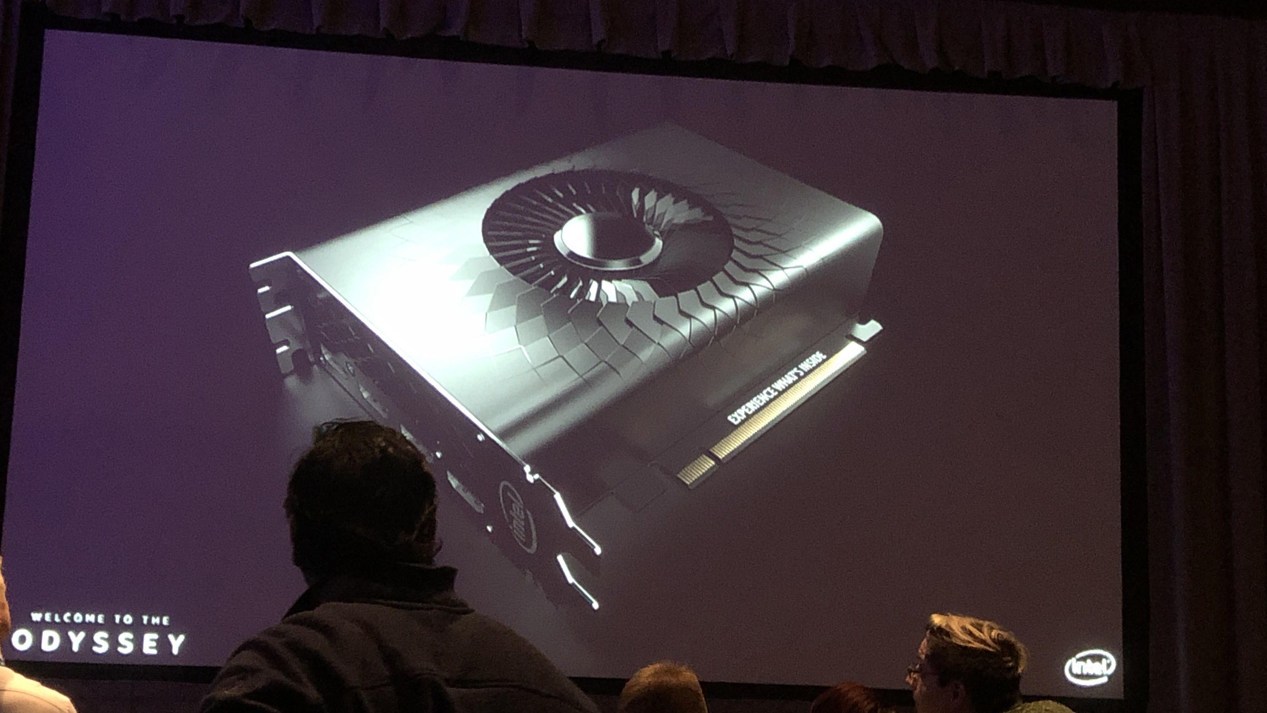 Intel Xe prototype shroud design