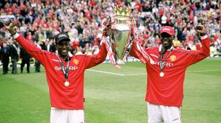 Andy Cole Manchester United Dwight Yorke