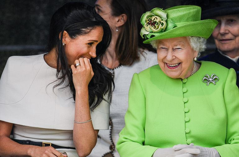 queen particularly proud meghan markle