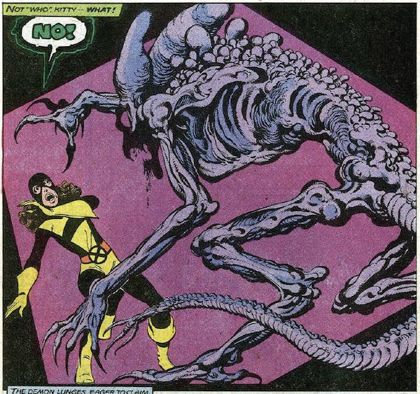 Kitty Pryde and the demon