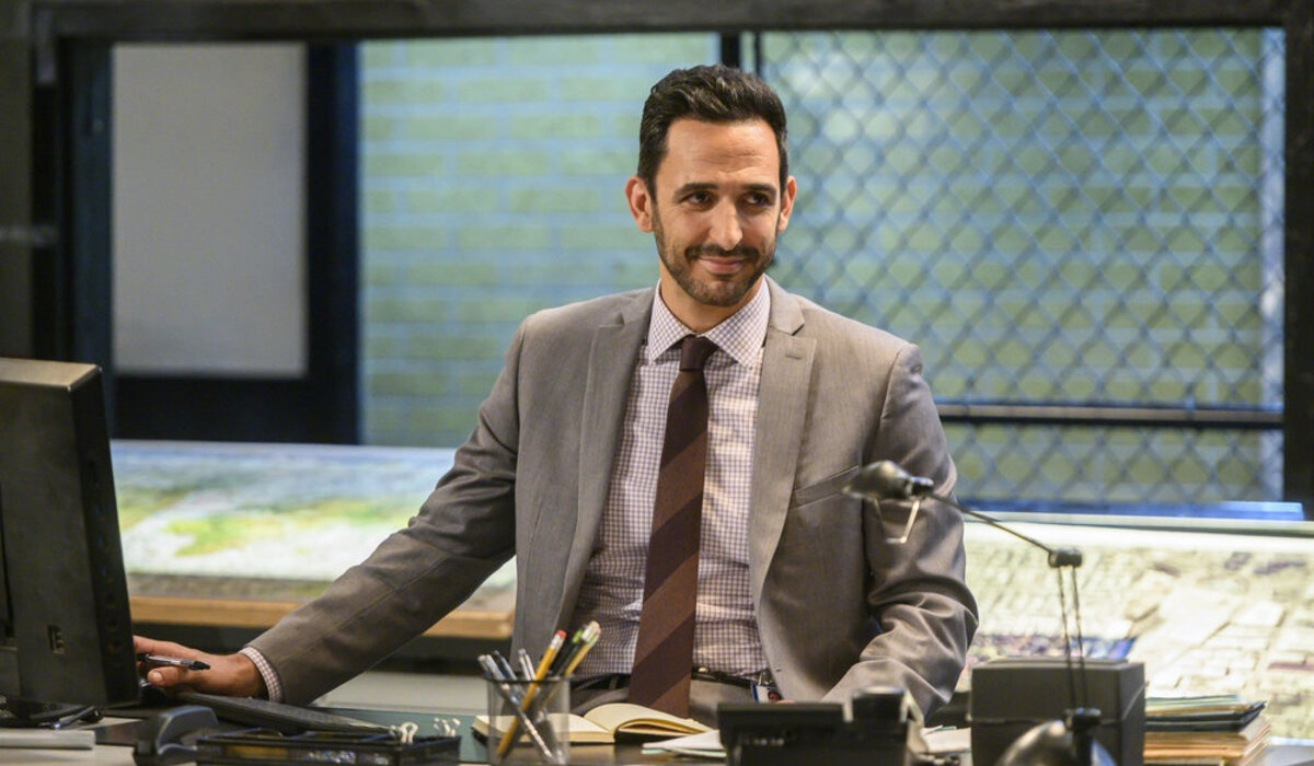 The Blacklist Amir Arison Aram Mojtabai NBC