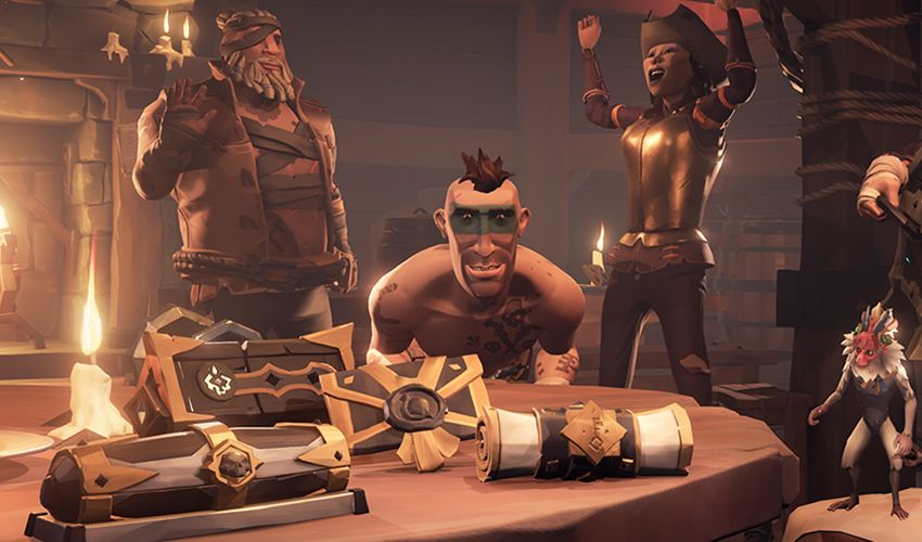 The latest Sea of Thieves update is an opportunity to earn a lot of gold