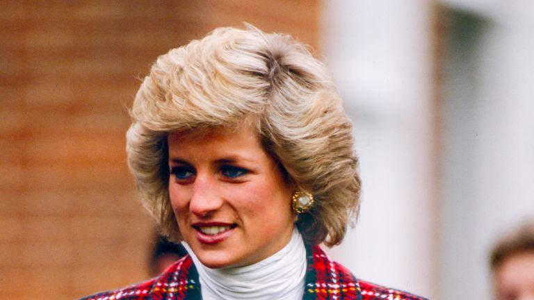 PORTSMOUTH, ENGLAND - JANUARY 23 Diana, Princess of Wales on a visit to Portsmouth, on January 23, 1989 in Portsmouth, United Kingdom. (Photo by Julian Parker/UK Press via Getty Images)