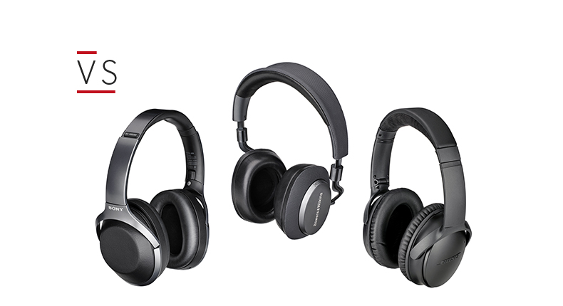 2887d3af6fb Bose QuietComfort 35 II vs Bowers & Wilkins PX vs Sony WH-1000XM2 - which  are best? | What Hi-Fi?