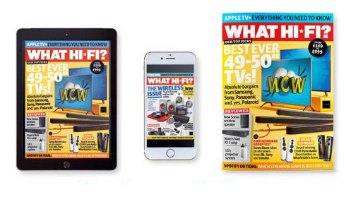 New issue of What Hi-Fi? out now: the best TVs your money can buy!