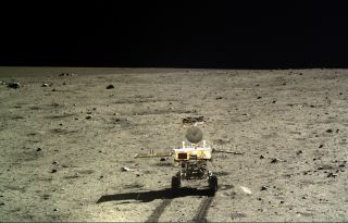 Chang'e 3 Moon Rover Image Dec. 2013